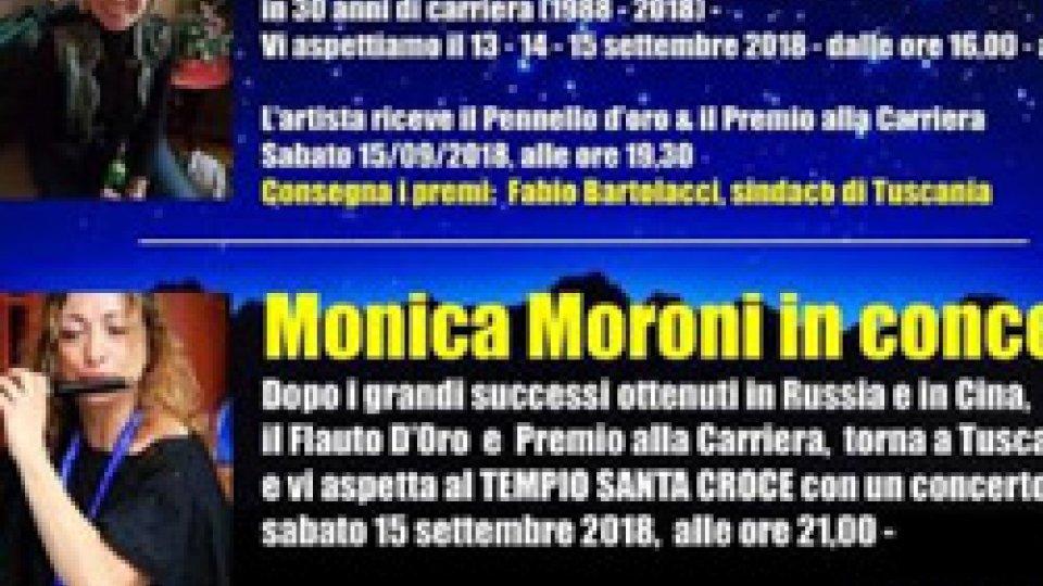 """""""Notti magiche sotto le stelle"""": Monica Moroni e il suo flauto il 15 settembre a Tuscania"""