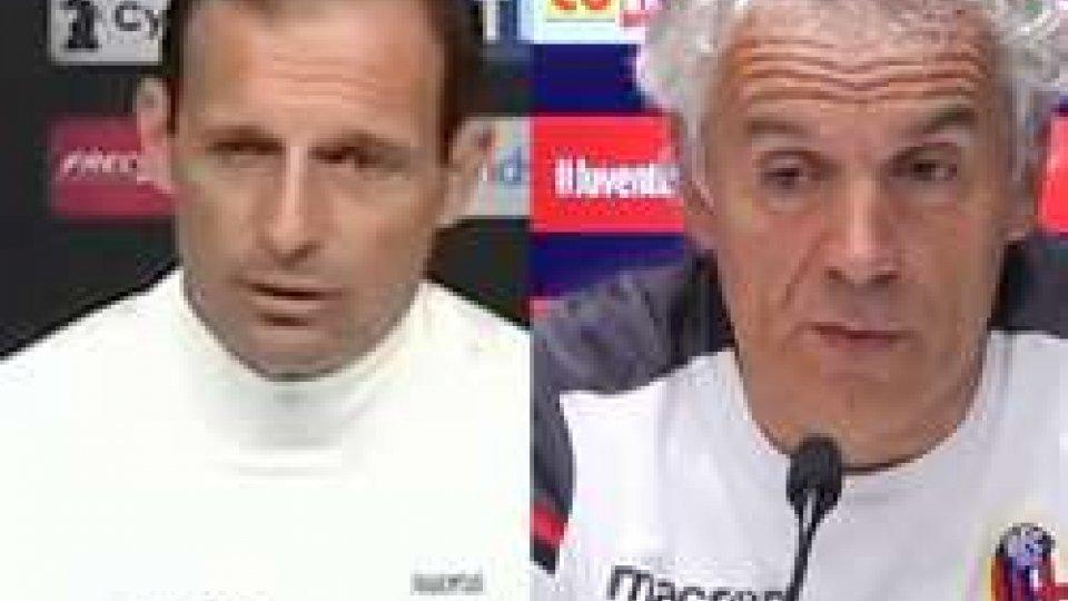"""Allegri aspetta il Bologna: """"Per noi conta solo vincere"""""""