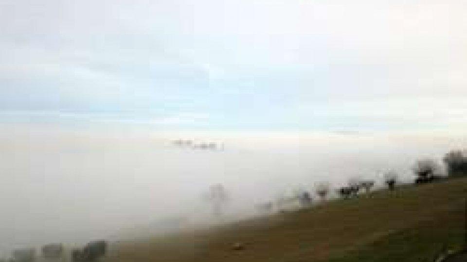 Nebbia sull'Adriatico