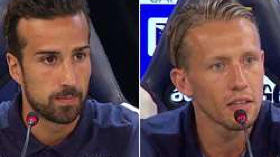 """Di Gennaro - LeivaDi Gennaro e Leiva: """"La Lazio una grande opportunità"""""""