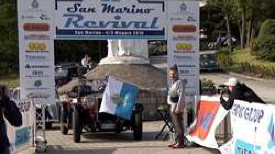25° San Marino RevivalAuto Storiche: a Fontana e Grossi il 25° San Marino Revival