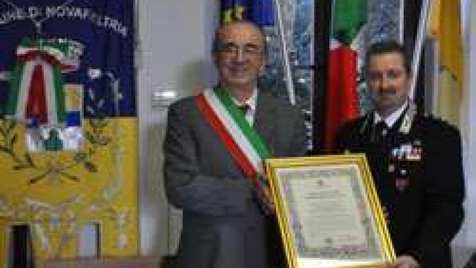 Capitano Geri cittadino onorario di Novafeltria