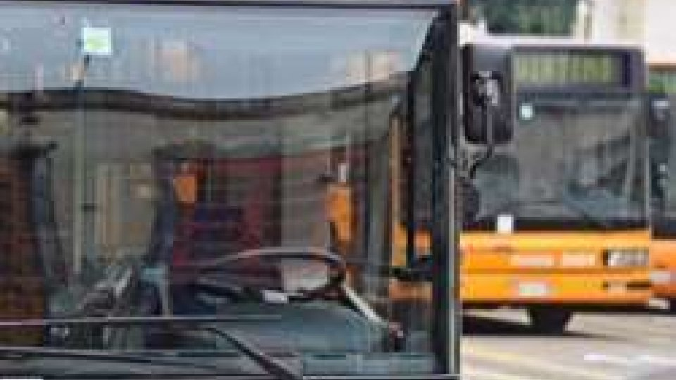 Autobus nei depositi