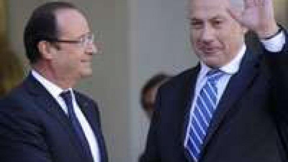 Iran: Hollande a Netanyahu, ripresa negoziati senza condizioni