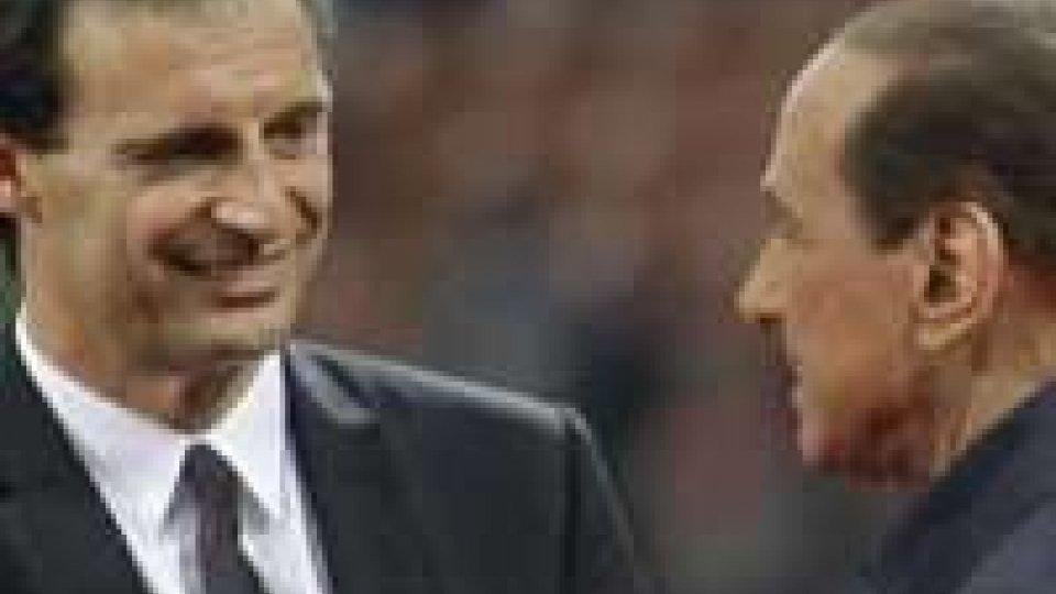 """Milan, Berlusconi: """"Allegri alla Roma"""""""