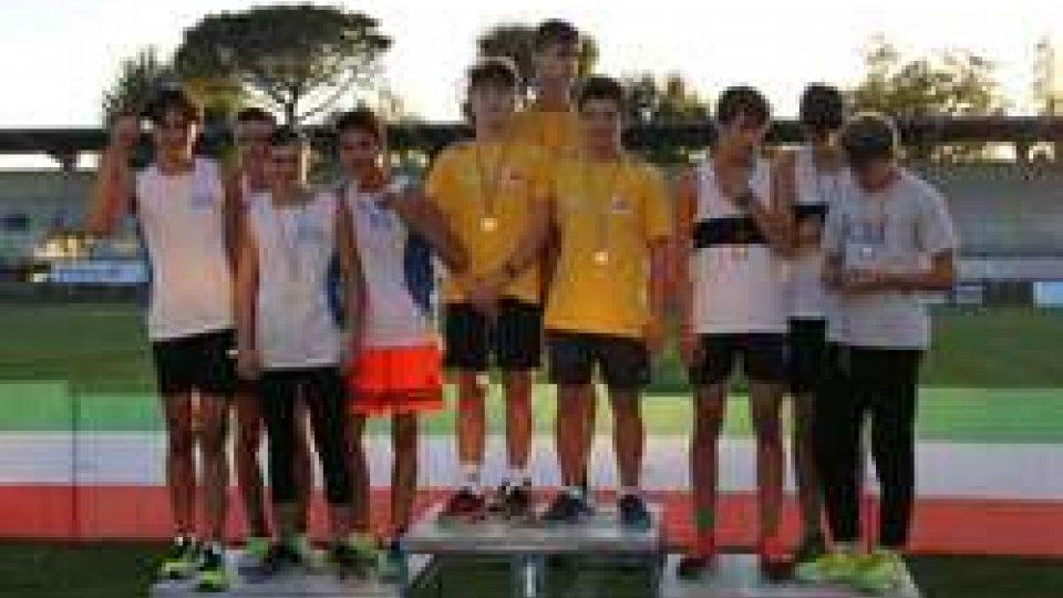 Atletica leggera: Gpa San Marino : tre nuovi record nelle staffette giovanili