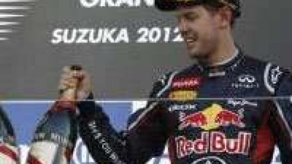 F1. Gran Premio Giappone. Vince Vettel, Alonso fuoriVince Vettel, harakiri Alonso