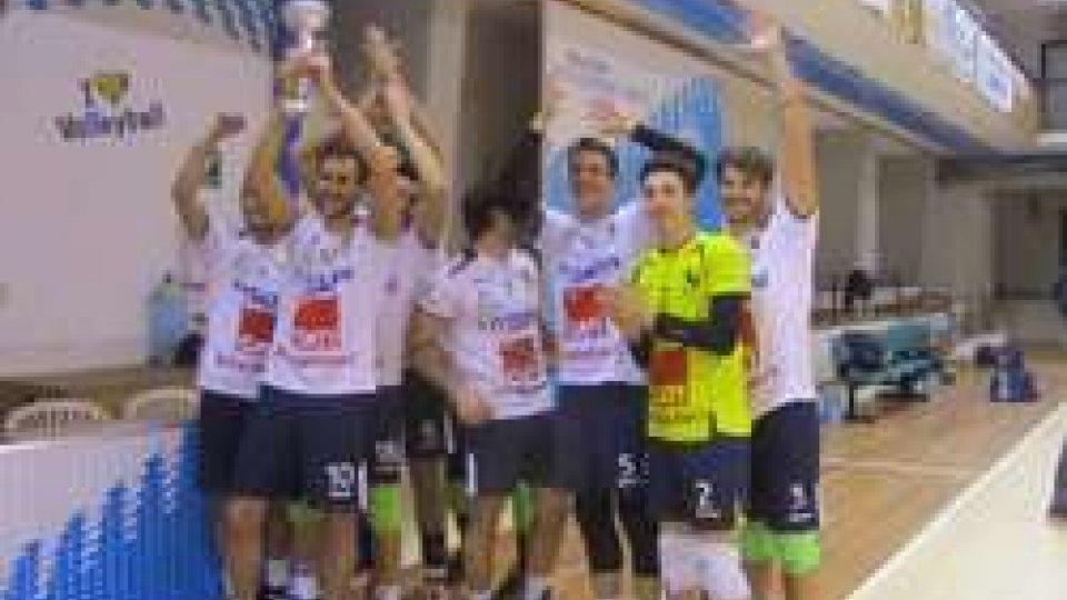 Volley: San Marino cade in finale. Memorial Casadei al Conselice