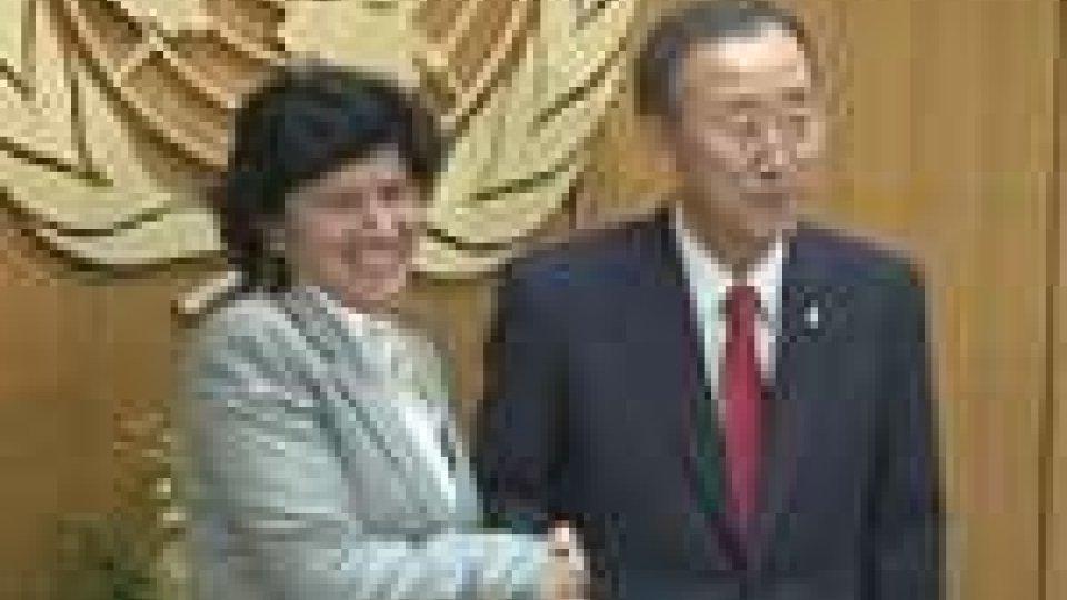 Onu: il Segretario Mularoni incontra Ban Ki-moon