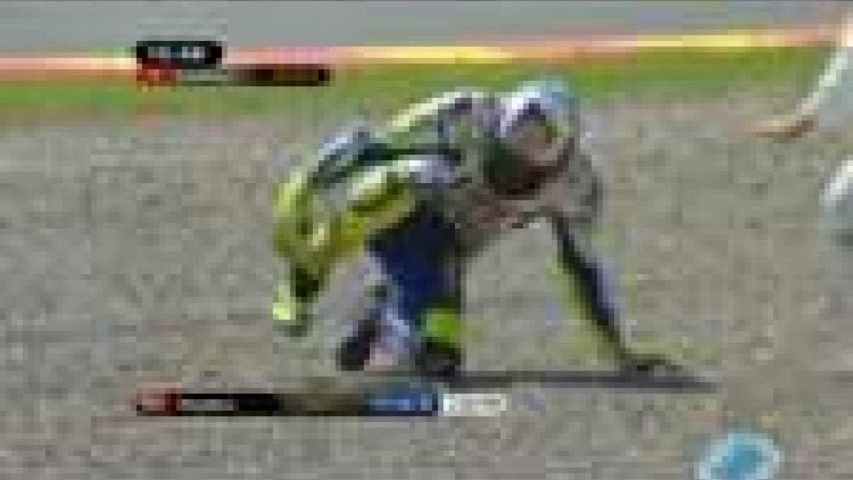 Infortunio per Valentino Rossi: mondiale compromessoValentino Rossi infortunato: i commenti dei tifosi di Tavullia