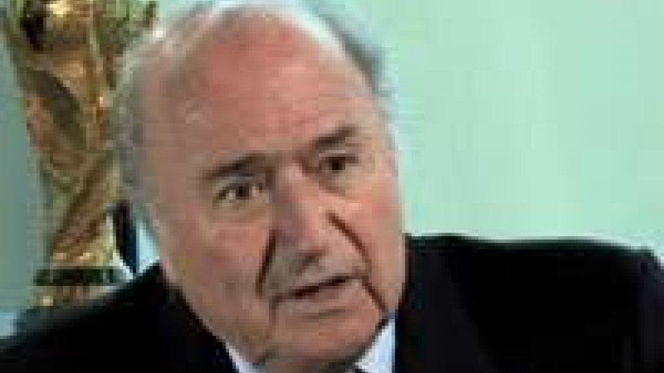 """Blatter: """"Favorevole alla tecnologia d'ausilio agli arbitri""""Blatter: """"Sì a tecnologia d'ausilio agli arbitri"""""""