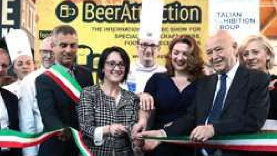 Rimini: inaugurata Beer Attraction
