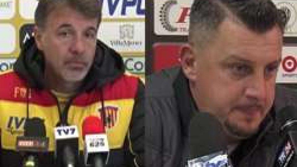 Le interviste a Baroni e CamploneSerie B: nel posticipo Cesena a Benevento. Le interviste a Baroni e Camplone