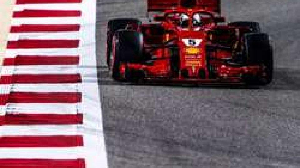 GP Bahrain: vince Vettel