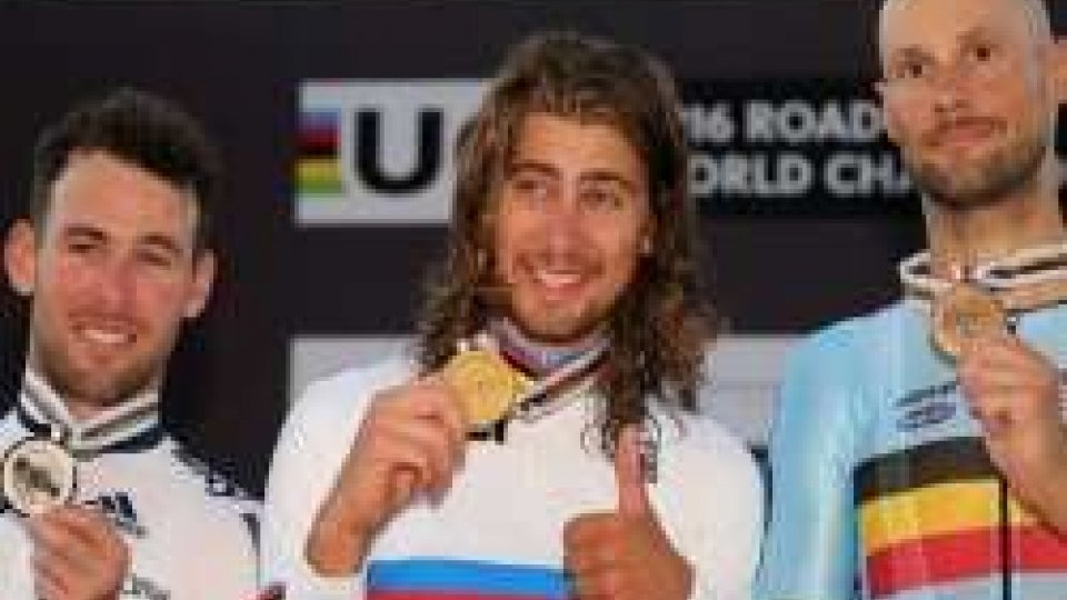 Ciclismo: bis mondiale di SaganCiclismo: bis mondiale di Sagan