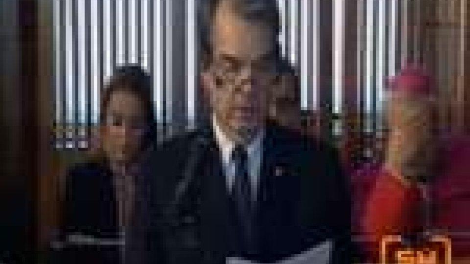 San Marino - I rapporti bilaterali al centro del discorso dell'oratore ufficiale, Renato Brunetta