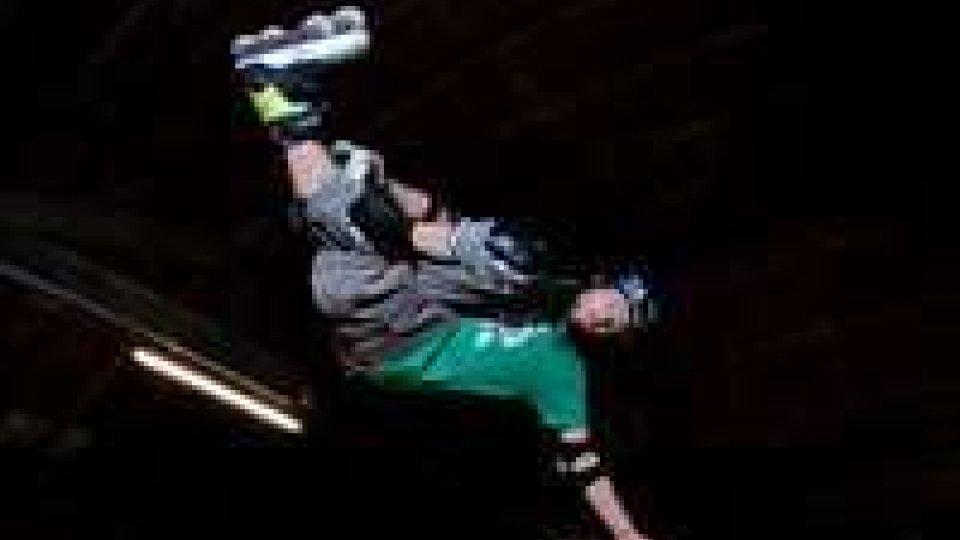 Giannoni sesto agli Europei di pattinaggio acrobatico su rampa