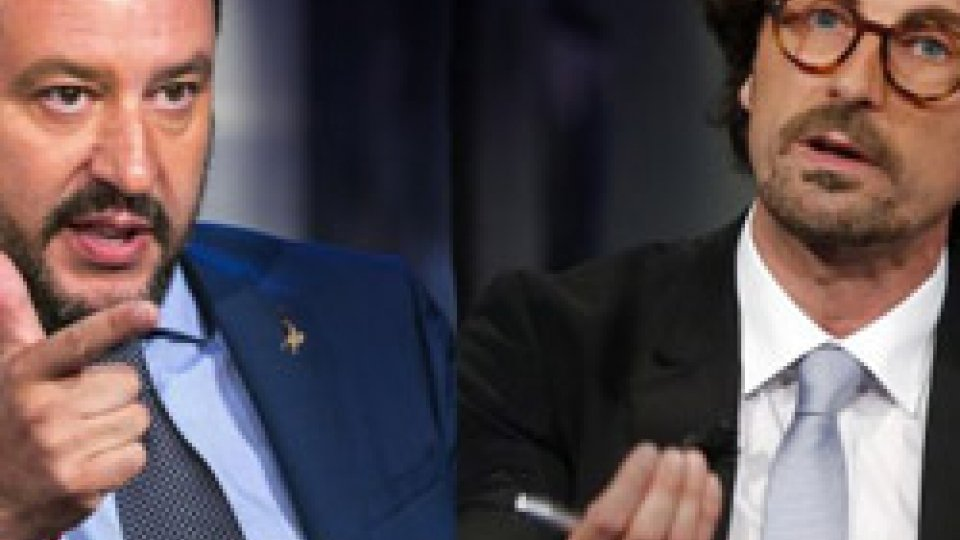 Salvini e Toninelli @radiotretweet