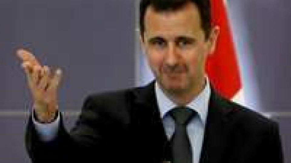 """Siria, Assad: """"in caso attacco ritorsioni da nostri amici"""""""