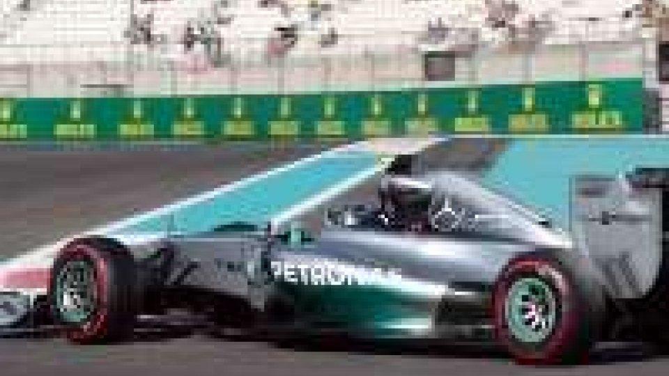 F1, Abu Dhabi: Rosberg in pole, 9° Raikkonen