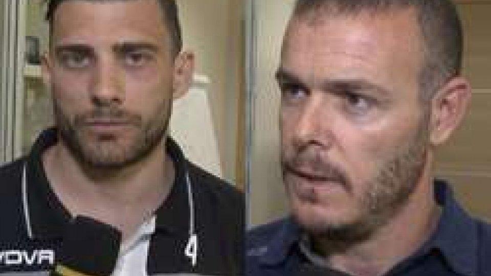 """Andrea Nucci e Andy SelvaNucci:""""Saremo determinati"""". Selva: """" Ognuno di noi sogna di essere decisivo"""""""