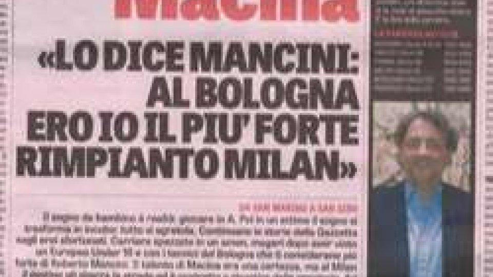 """Marco Macina sulla Gazzetta: """"Mi piacerebbe collaborare con Mancini""""Marco Macina sulla Gazzetta: """"Mi piacerebbe collaborare con Mancini"""""""