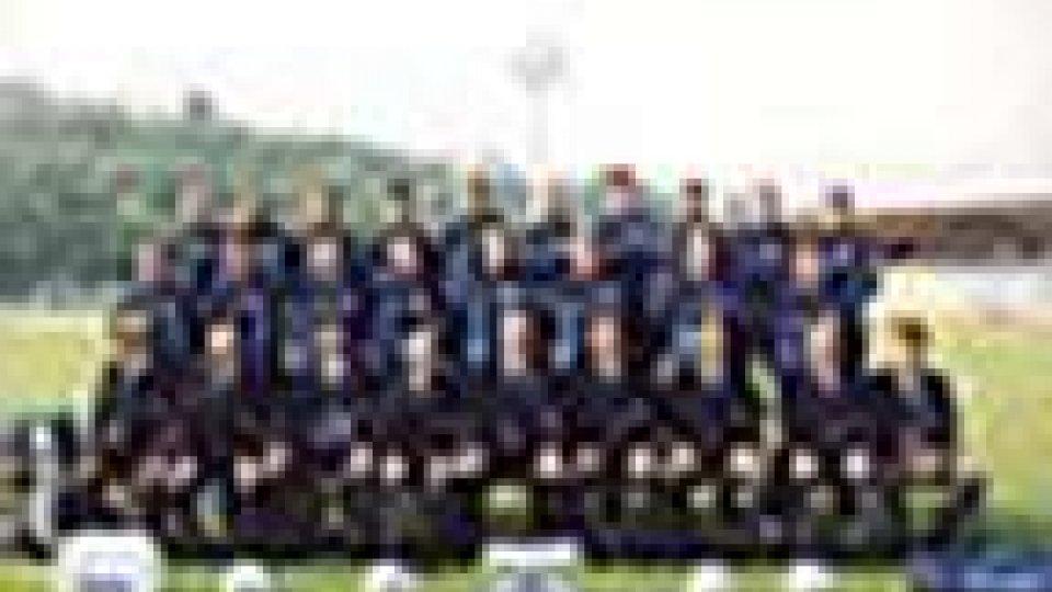 San Marino-Spagna: la formazione biancoazzurra