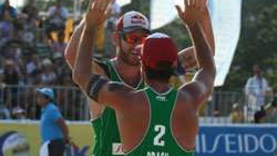 Beach volley: dominio brasiliano a Long BeachBeach volley: dominio brasiliano a Long Beach