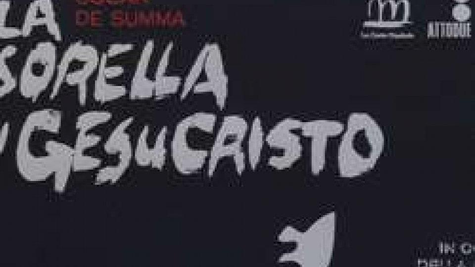 """""""La sorella di GesuCristo""""Teatro: al Titano la """"Via Crucis"""" di una ragazza vittima di violenza"""