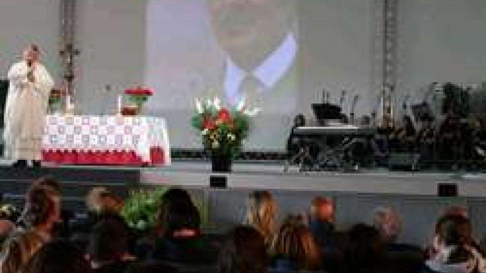 San Patrignano unita nel ricordo di Vincenzo Muccioli