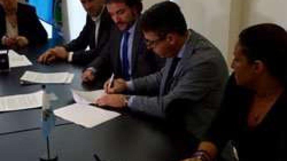 Usl e Osla firmano il contratto dell'artigianato