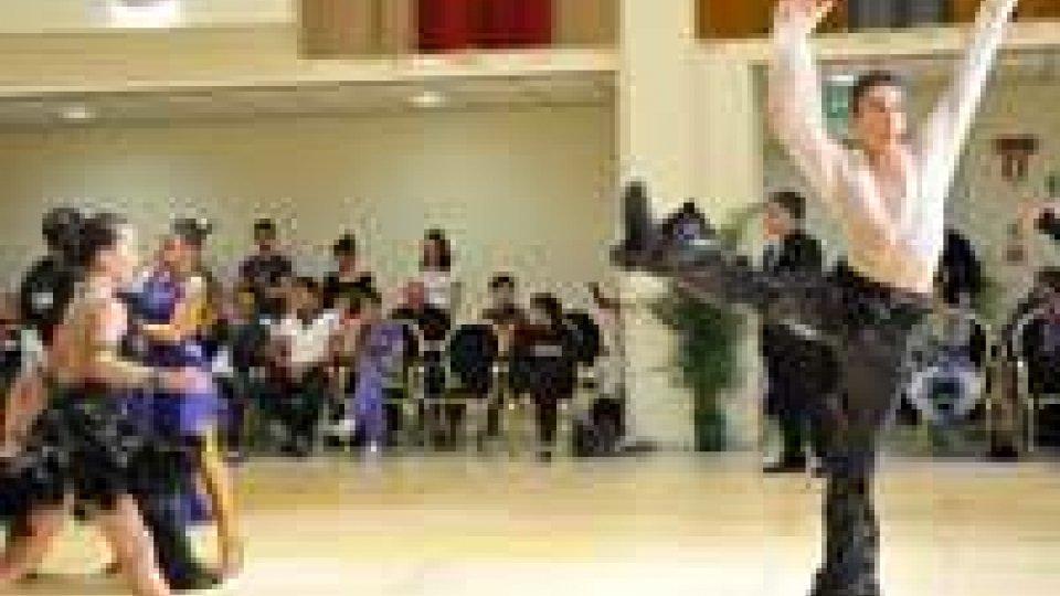 San Marino DanceSport Grand Prix 2012. Due giorni intensivi di competizioni
