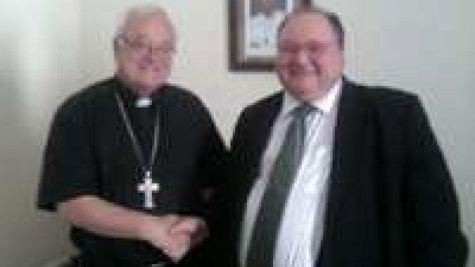 San Marino-Tunisia: l'ambasciatore Bellatti Ceccoli ha incontrato mons. Antoniazzi