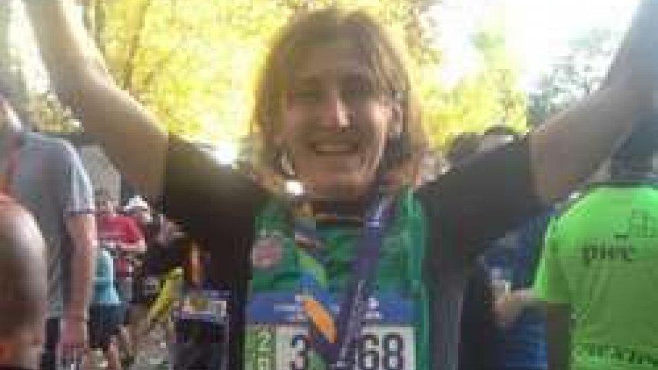 Claudia NicoliniClaudia Nicolini unica sammarinese a prendere parte alla maratona