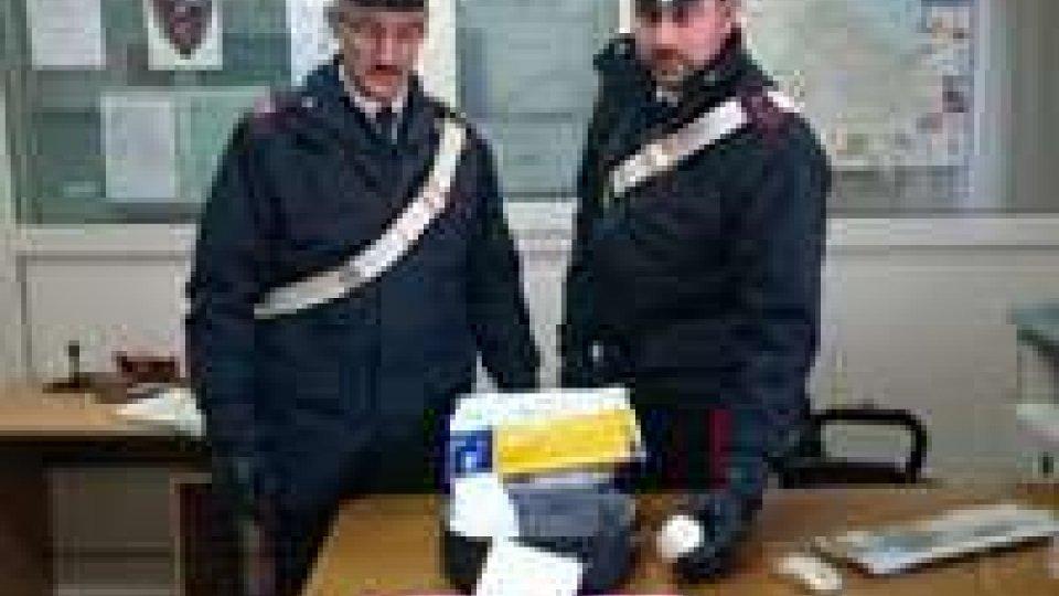 Rimini, sequestrati 620 grammi di cocaina