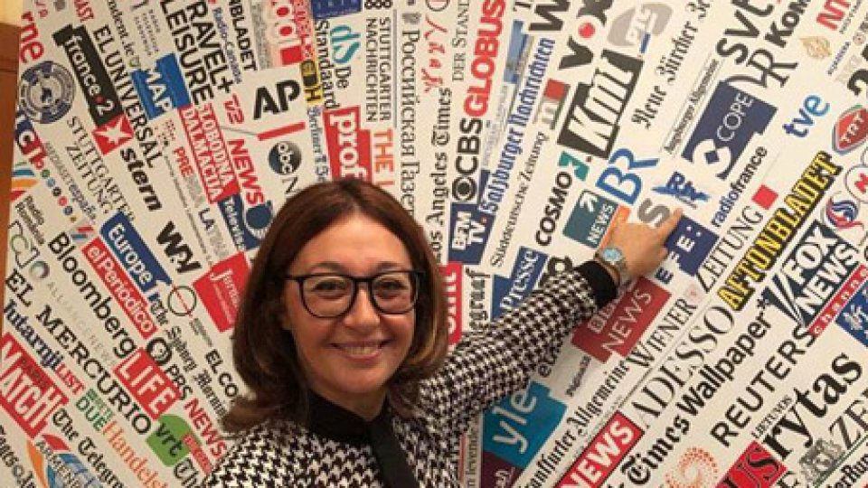 La nostra Francesca BiliottiNuovo logo per la Stampa Estera: anche San Marino Rtv entra nell'icona ufficiale