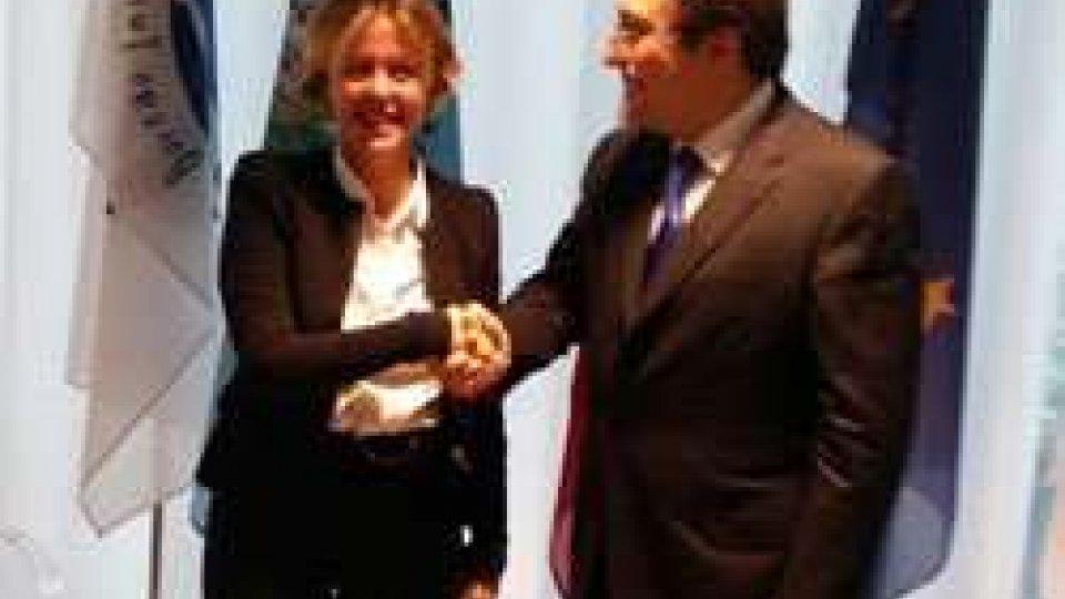 Incontro bilaterale On.le Lorenzin e On.le Mussoni