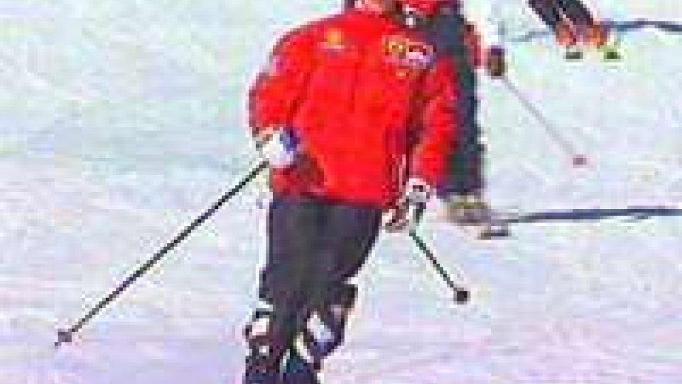 F1: cade sciando, trauma cranico per Michael Schumacher