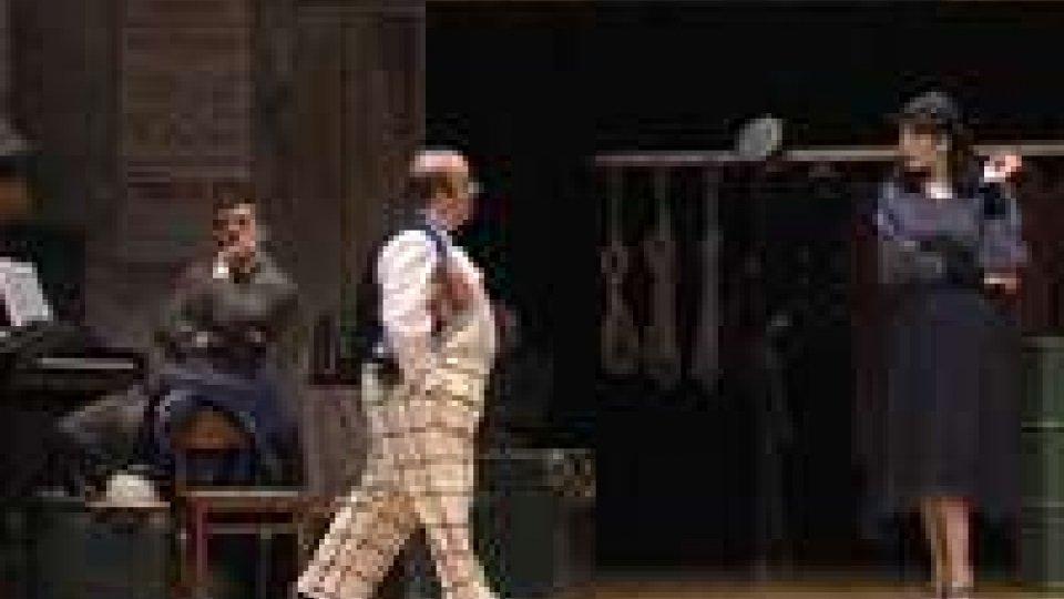 """Al teatro Titano le Sorelle Marinetti e Gianni Fantoni in """"Risate sotto le bombe""""Al teatro Titano le Sorelle Marinetti e Gianni Fantoni in """"Risate sotto le bombe"""""""