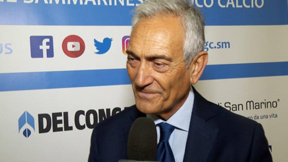 """Gabriele GravinaFIGC, Gravina a RTV: """"Dobbiamo recuperare credibilità, dare certezze ai tifosi, per un calcio sostenibile"""""""