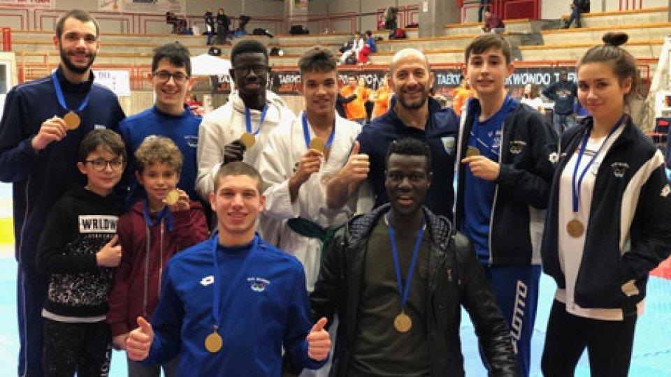 Taekwondo: 3 ori e 4 bronzi per i Titani all'Interregionale Liguria 2018