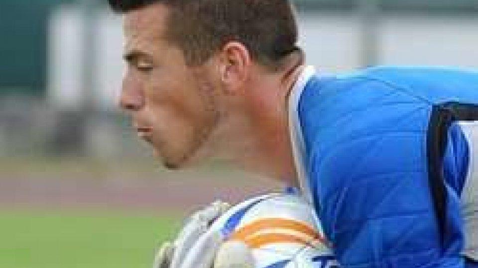 Santarcangelo: il portiere Nicola Sambo in ritiro