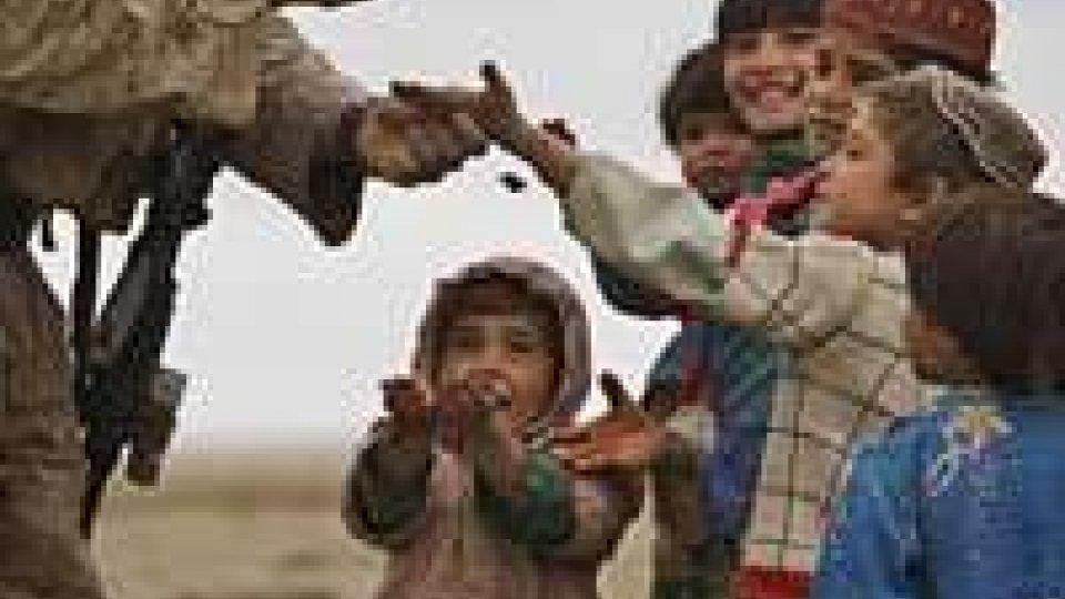 Aghanistan: 200 bambini nel carcere Usa di Bagram