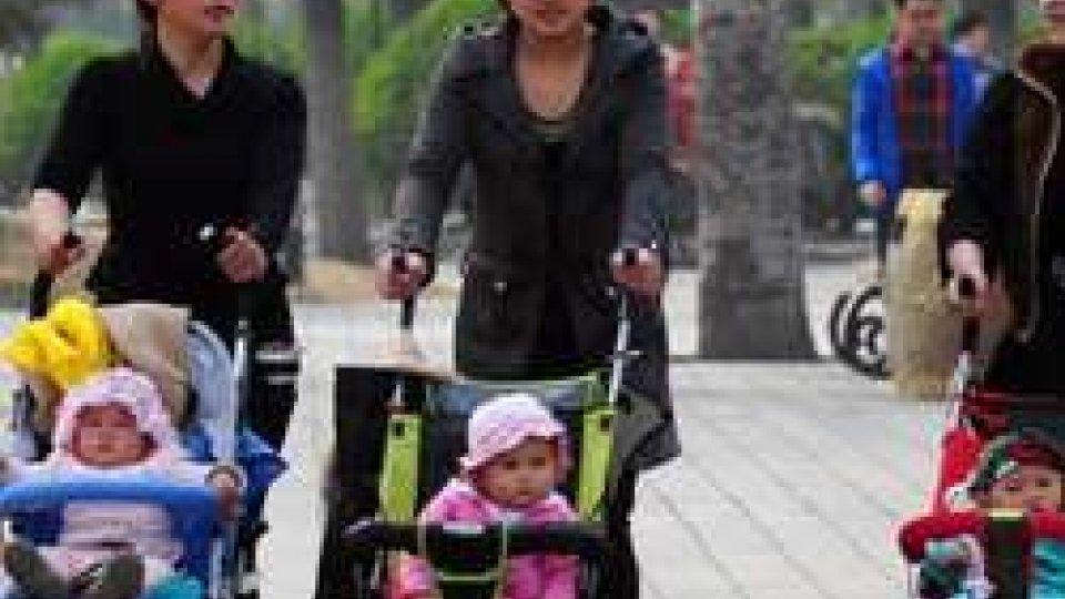 I nuovi nati in Cina