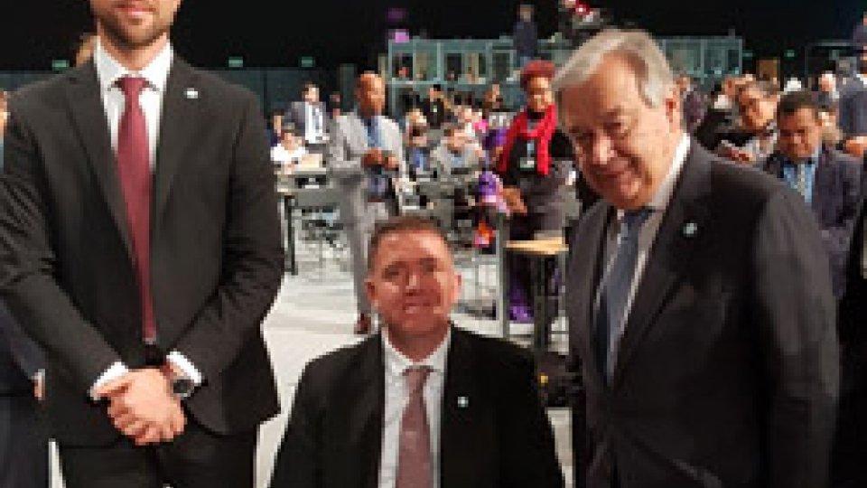 I Capitani Reggenti alla Conferenza internazionale degli Stati che hanno aderito alla Convenzione ONU sul clima