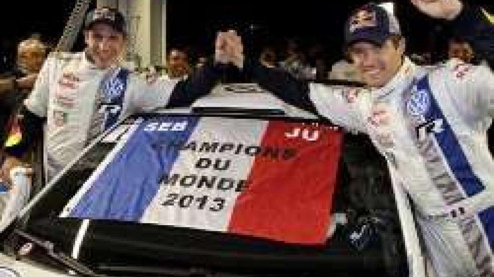 Rally: Ogier campione del mondo