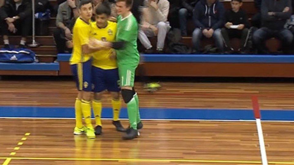 San Marino cade 6-0 con la SveziaEuro Futsal U19: San Marino cade 6-0 con la Svezia, Cipro va al Main Round