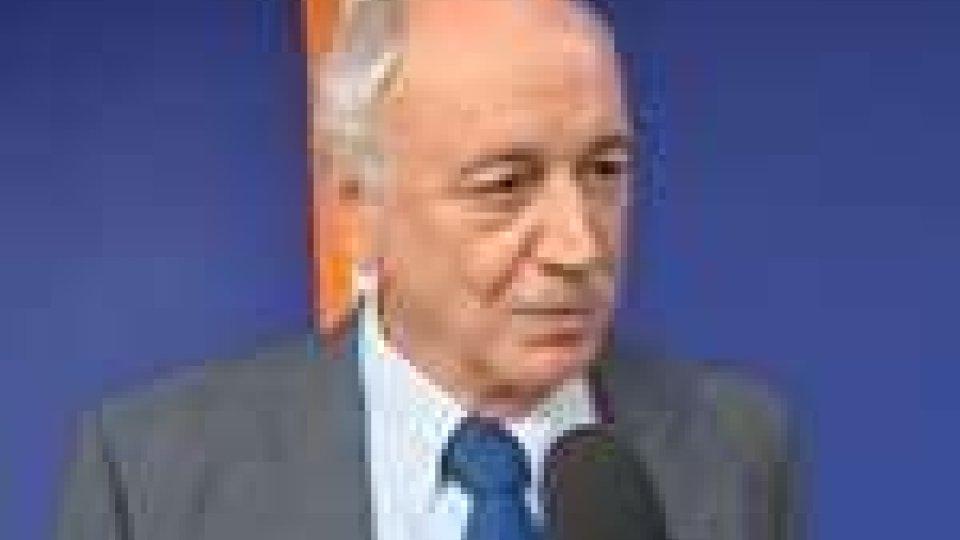 L'ambasciatore d'Italia a San Marino, Giorgio Marini, in visita alla RTV