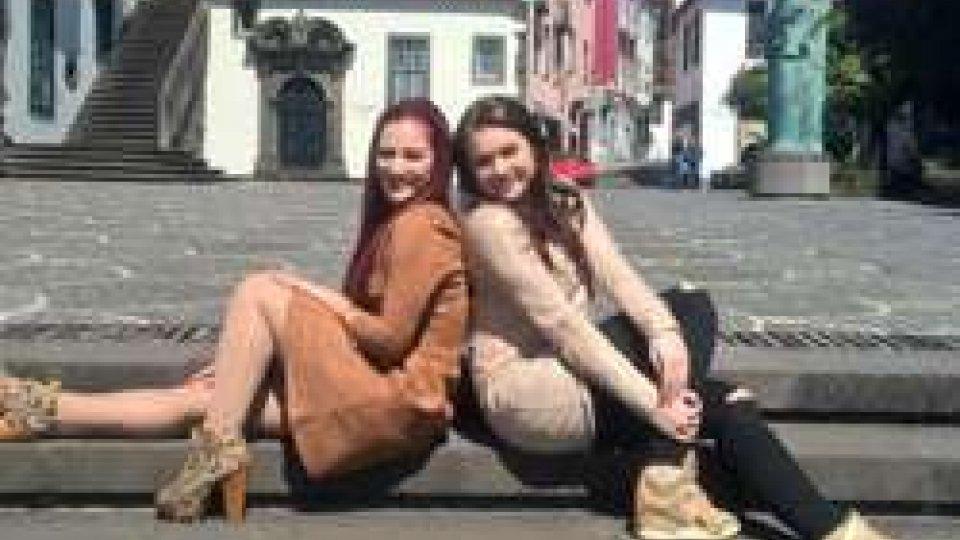 Jessika e JeniferEsc2018: l'avventura di Jessika e Jenifer parte da Madeira
