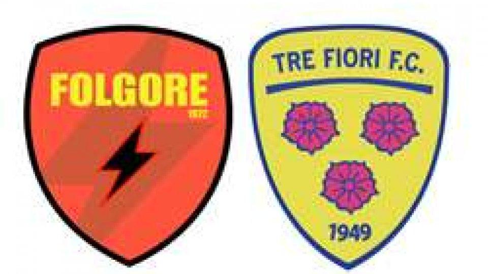 Folgore – Tre FioriFolgore–Tre Fiori a Montecchio si conoscerà il nome dell'altra finalista